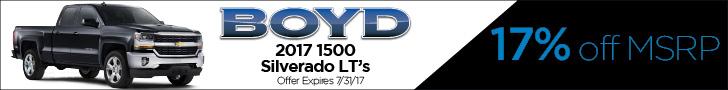 Boyd July Silverado1500