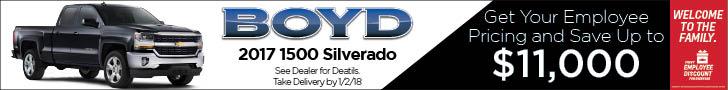 Boyd December silverado