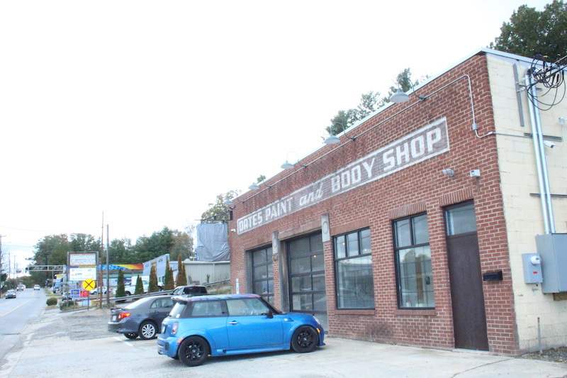 Dry Falls Brewing Co. will open soon in the old Oates Paint & Body shop on Kanuga's Busy Bend.