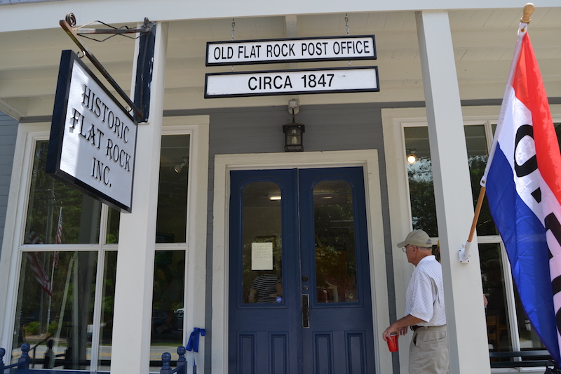 Historic Flat Rock Inc. has opened a museum in the 1847 historic post office.