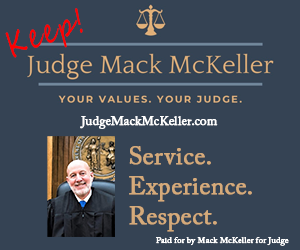 Keep Judge Mack McKeller