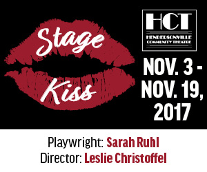 Hendersonville Community Theatre: Stage Kiss