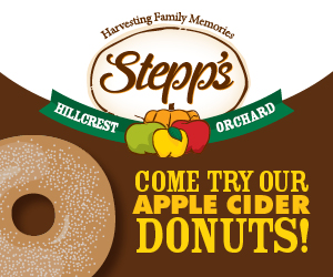 Stepp's Hillcrest Orchard Donuts