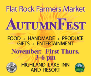 Flat Rock Farmers Market Autumn Fest
