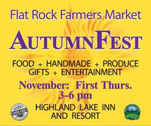Flat Rock Farmers Market Autumn Fest