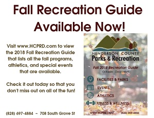 HC P&R Fall Rec Guide 2018