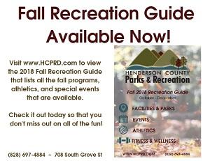 HC P&R Fall Rec Guide 2018