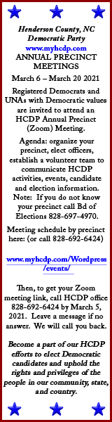 HCNC Democratic Party EVENTS