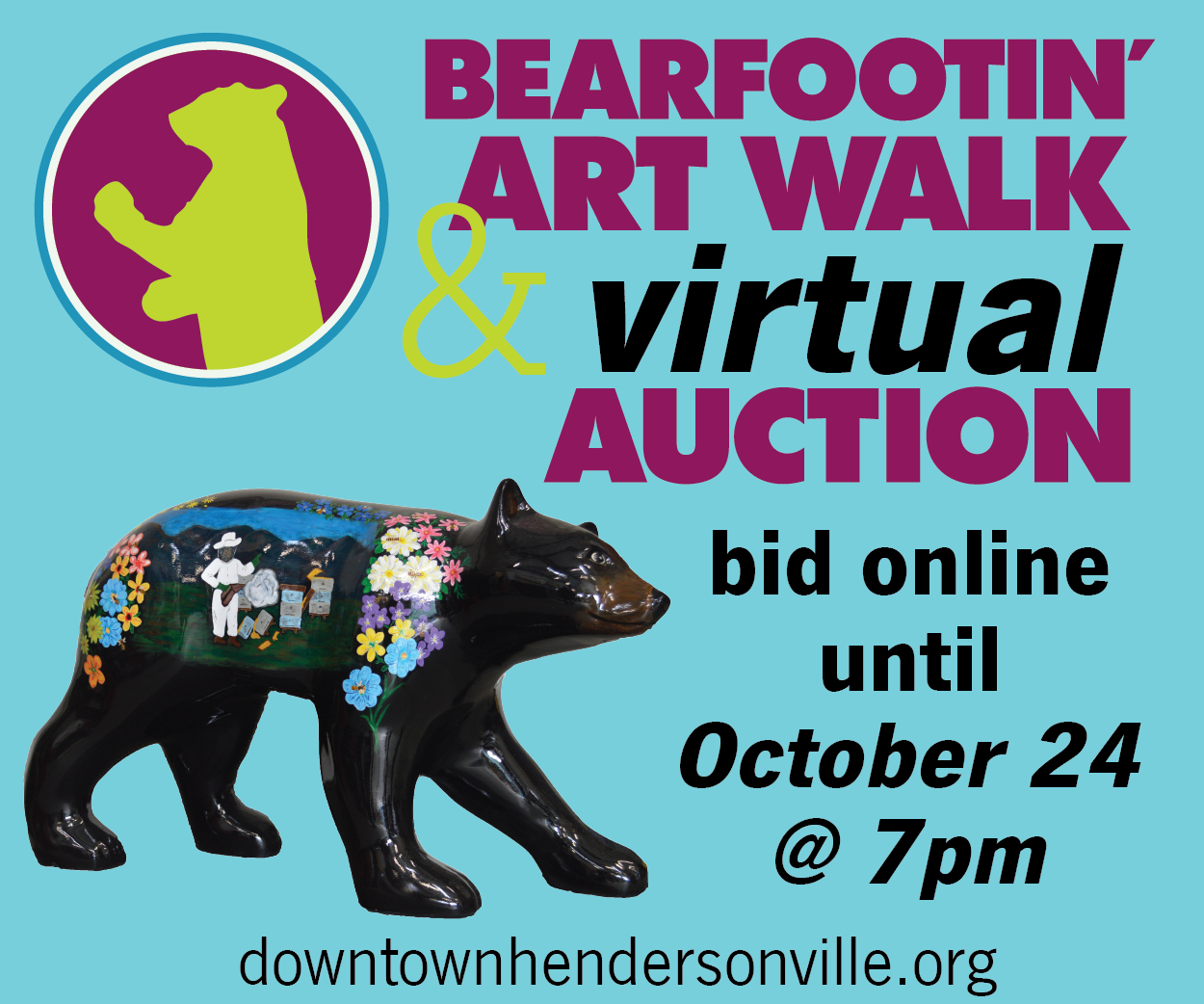 Bearfootin' Virtual Auction - downtownhendersonville.org