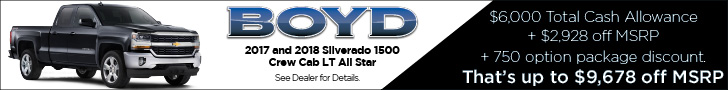 Boyd Jan. 2018 Silverado