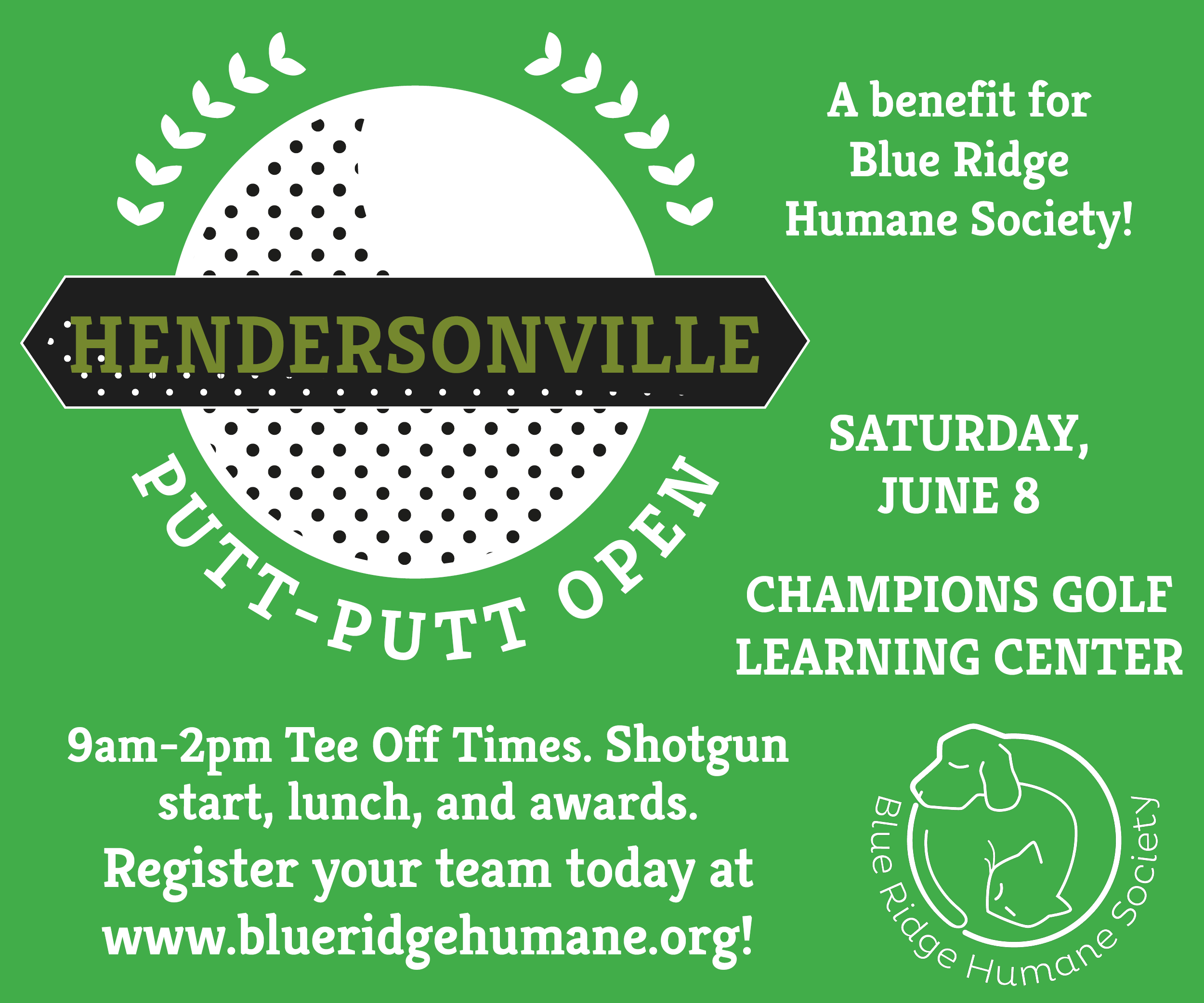 Blue Ridge Humane Society Putt Putt