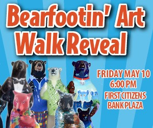 Downtown Hendersonville Bear Reveal
