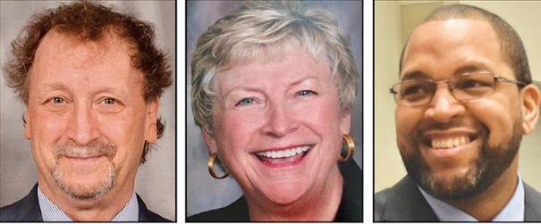 New members of the Community Foundation's Board of Directors are Ken Adams, Ruth Birge and Eric Gash.