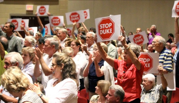 A grassroots movement killed Duke Energy's transmission line plan in 2015.