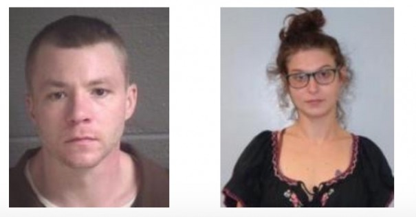 Police are seeking Ryan Hoffman Vought and Autumn Michelle James for trying to run over a Fletcher police officer and driving away.