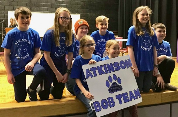 Atkinson's Battle of the Books team advanced to a regional competition April 25 in Waynesville.