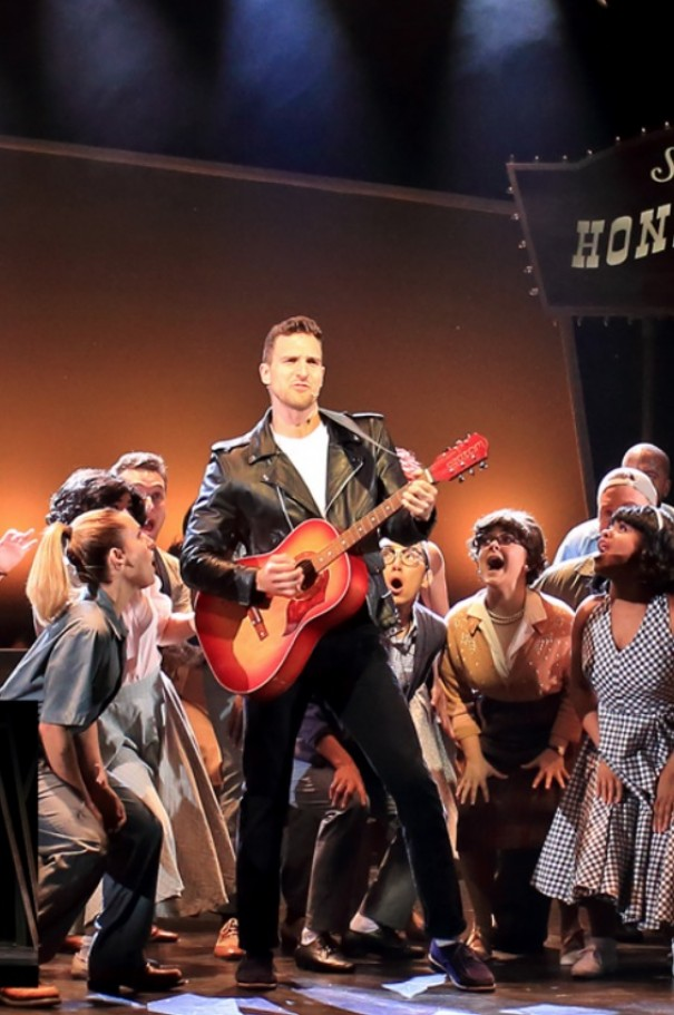 Steven Grant Douglas stars as Chad in 'All Shook Up'