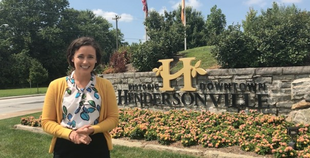 Allison Nock is the new communications manager for the city of Hendersonville.