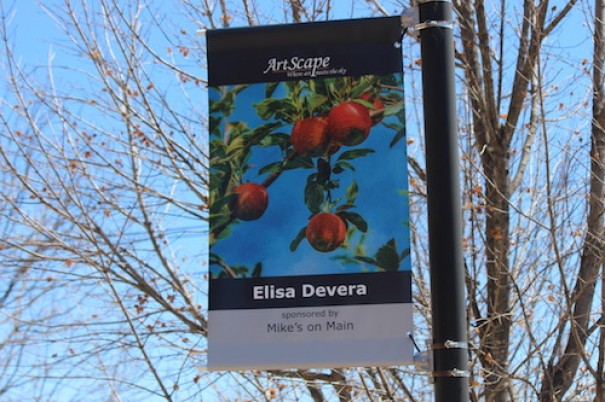 ArtScape banners hang on Main Street and Seventh Avenue East. [LIGHTNING FILE PHOTO]