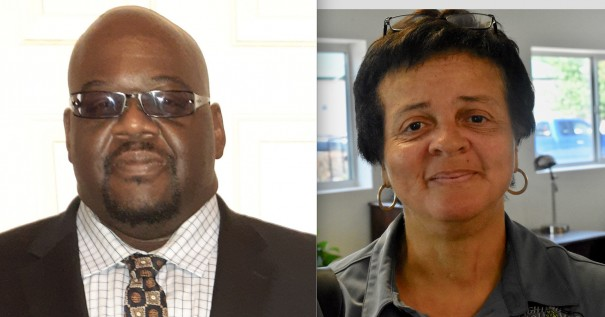 Royce Canty and Debbie Roundtree are running for the Democratic nomination for the District 2 Board of Commissioners seat.