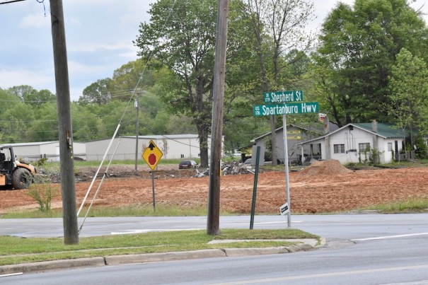 The Hendersonville City Council rezoned 4 acres on Spartanburg Highway at Shepherd Street for commercial use.