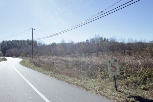 A landowner is seeking the city's permission for 67 homes on Howard Gap Road near Nix Road.