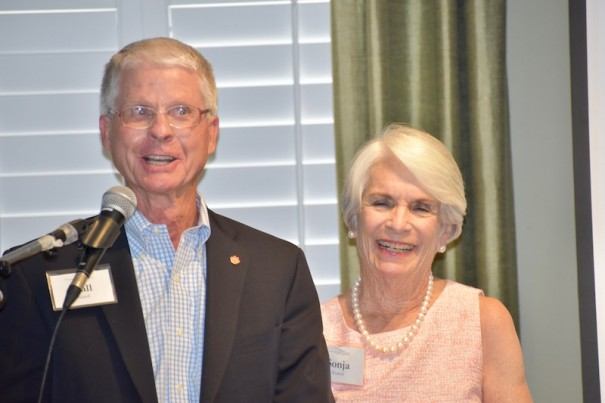 Hall and Sonja Waddell were honored as 2019 Sauer Award winners.