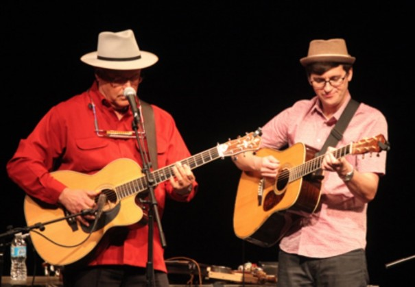 David Holt and Josh Goforth will perform on Nov. 17 at Blue Ridge Community College.