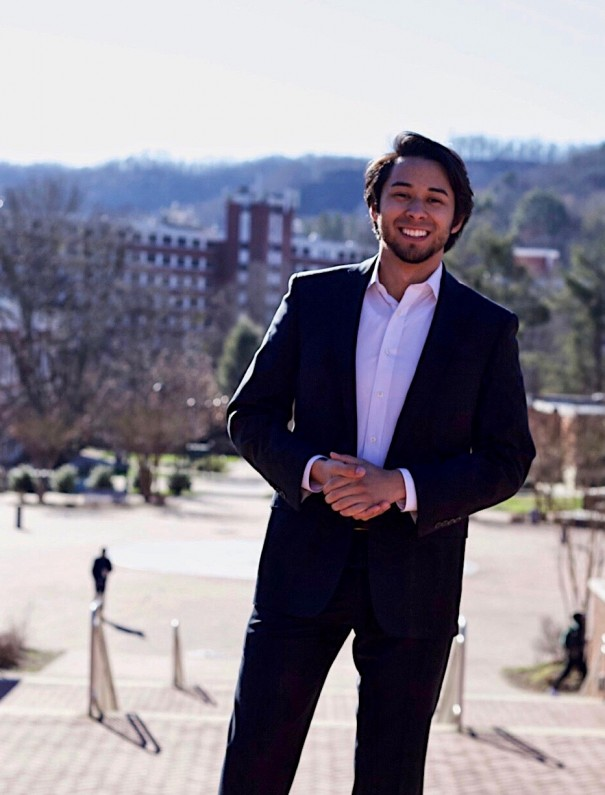 David Rhode, HHS class of 2016, is the new student body president of Western Carolina University. [CONTRIBUTED PHOTO]