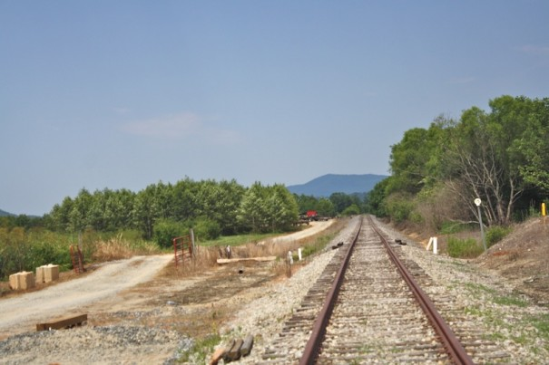 Norfolk-Southern rail line from Hendersonville to Pisgah Forest has been sold to a shortline operator.