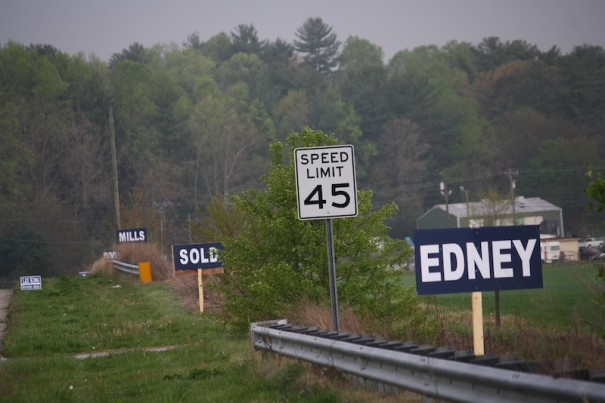 The Riddle campaign on Friday pulled Asheville Highway signs that attacked Edney over 1995 water vote.