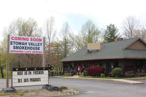 The Old Etowah Smokehouse will open soon on U.S. 64.