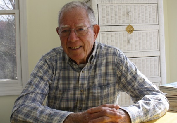 Frederick B. Jones writes a column in the Lightning about World War II in Henderson County.