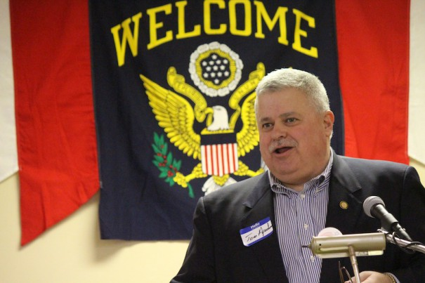 State Sen. Tom Apodaca, shown in a 2015 file photo, announced Monday he won't seek an eighth term.