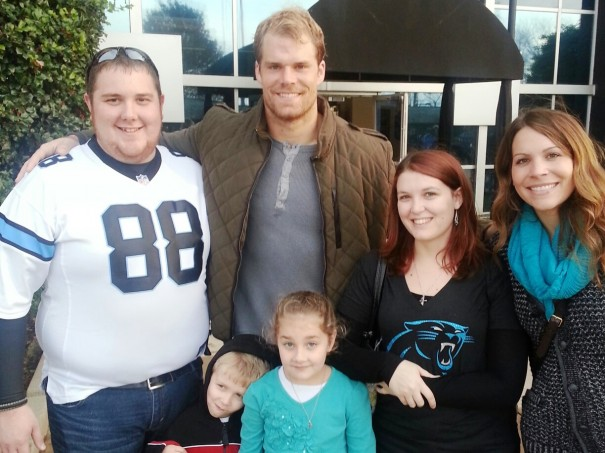Glen LaFever, Greg Olsen, Kristen LaFever and Kara Olsen, with Aidan and Hannah LaFever.