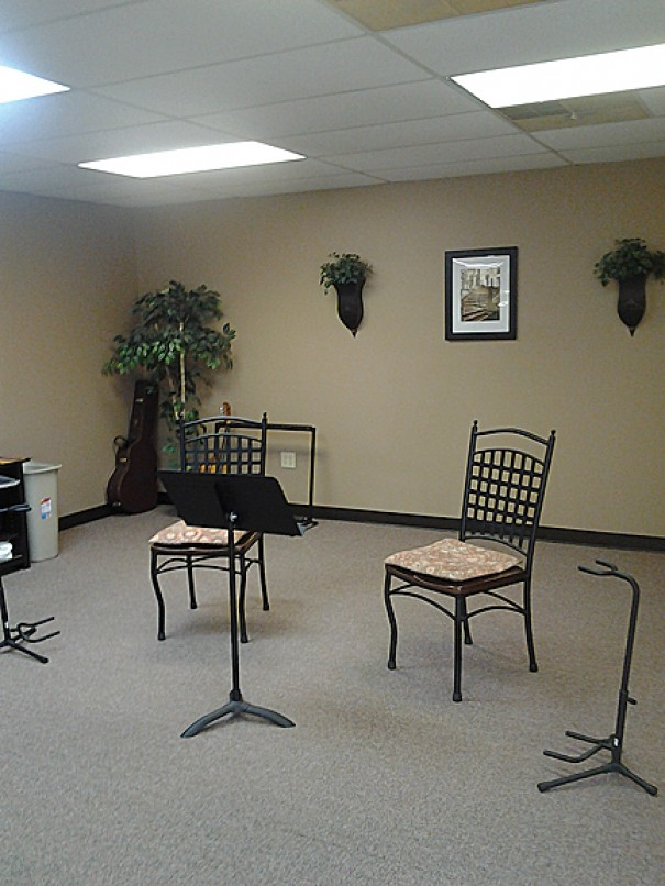 The Guitar Academy of Western North Carolina will expand into an additional 1,600 square fet of buildings space creating additional teaching studios.