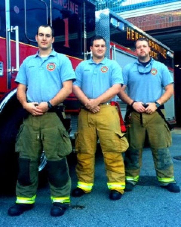 The Hendersonville Fire Department promoted Christian Miller to lieutenant and hired Glen Gillette and Chris Martin as firefighters.