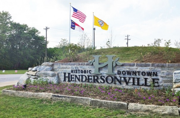 Jeff Miller thought the new gateway to Hendersonville needed an American flag.