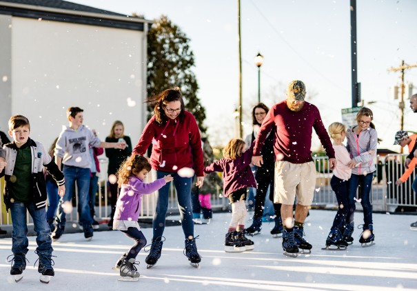 Holiday skating opens Tuesday and continues through New Year's Day. [PHOTO BY AMPLIFIED MEDIA]
