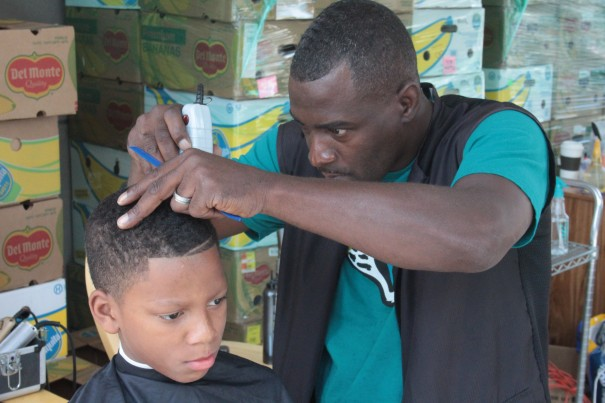Kids can get free haircuts on Aug. 24.