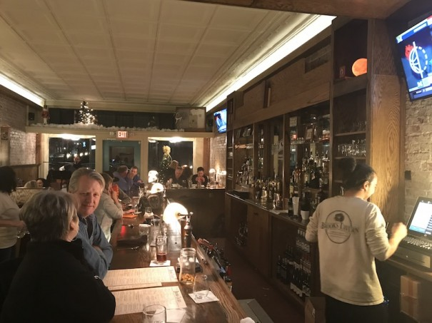 Brooks Tavern opened Monday on Third Avenue West in downtown Hendersonville.
