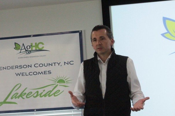 Lakeside CEO Chris Cervini describes greenhouse operation coming to Ladson Road.