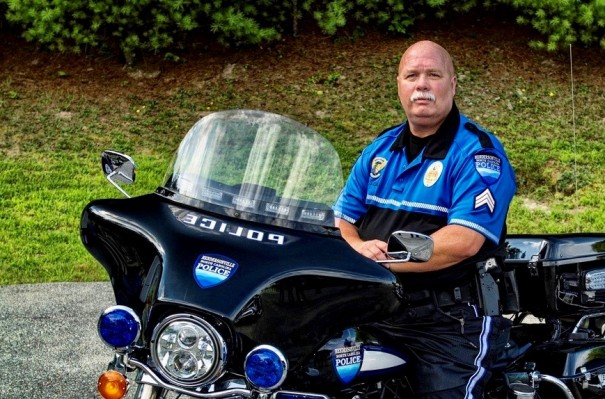 Lt. Jimmy Case, a familiar sight around town on motorcycle patrol, as a K9 officer and driving safety instructor, died unexpectedly Thursday.