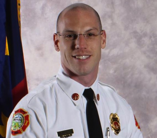 Joe Vindigni was named Hendersonville fire chief in February 2016.