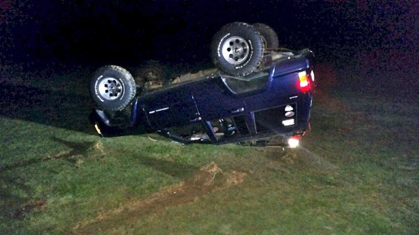 A driver was charged with trespassing and damaging property after flipping his car at the Etowah Valley Golf & Resort.
