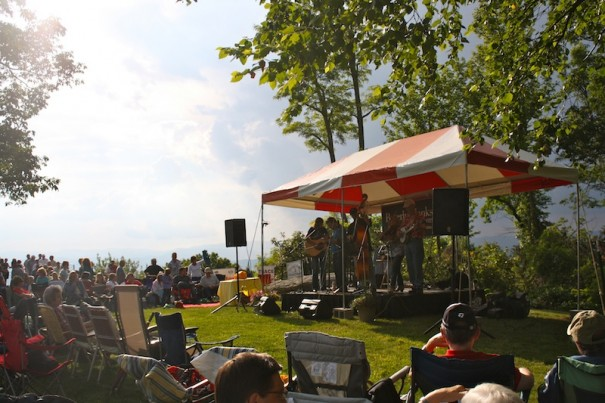 Bluegrass and Barbecue drew a big crowd last May.