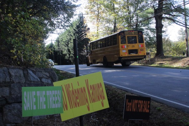 Kanuga residents have organized to stop a road widening.