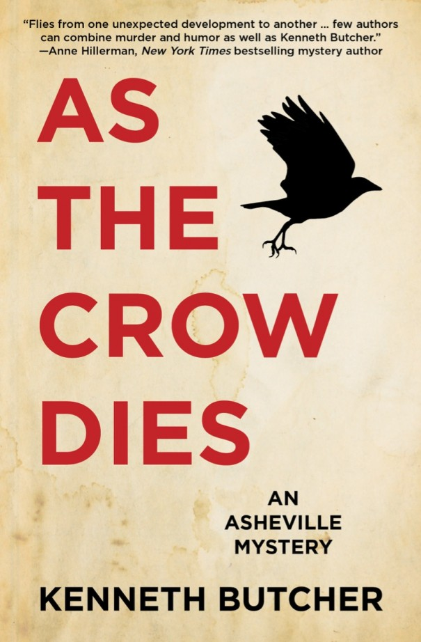 Ken Butcher's third novel, 'As the Crow Dies,' will be released Tuesday. It's available at Amazon.com and Barnes & Noble's website and at local bookshops.