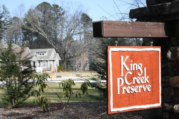 King Creek Preserve in Flat Rock is a rare exception. New homes are going up and 14 of 20 lots have sold. Lots range from $60,000 to $115,000. Countywide, lower priced homes are selling quicker.