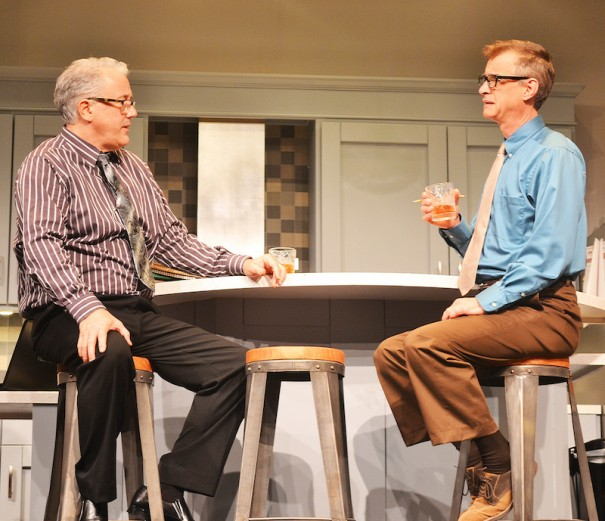 Preston Dyar and Scott Treadway star in 'The Love List' at the Flat Rock Playhouse.